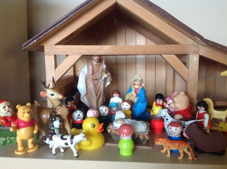 Fischer Price Nativity scene